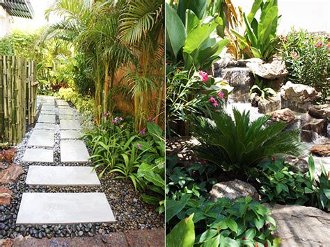 Tropical Rock Garden Rock Pond And Tropical Rock Garden For Bangkok Family Thai Garden Design