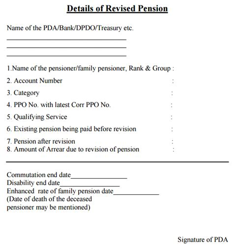revision of pre 2006 jcosors pensioners family issue of pension slip to defence pensioners family