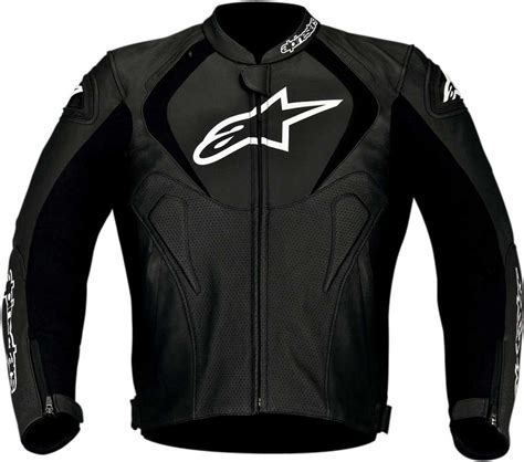 2016 Alpinestars Jaws Perforated Leather Jacket Street