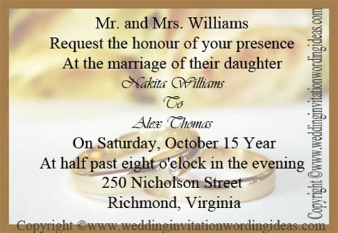 what to write on wedding invitation card traditional wedding invitation wording how to write