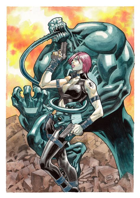 Cat Air Water Colours Titi 12 Warna 6 Ml ultimate black widow vs venom water color by pipin on deviantart