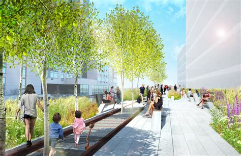 Landscape Architect Highline Designs For The High Line At The Rail Yards The