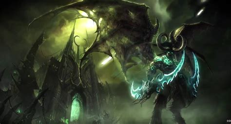 world of warcraft illidan 1785652419 world of warcraft illidan живые обои игры