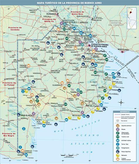 mapa america buenos aires de buenos aires a entre rios mapa