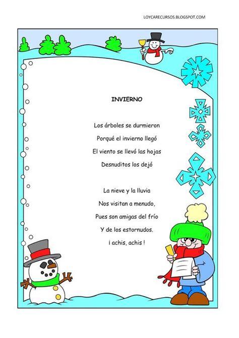 imagenes retoricas pdf poemas y rimas del invierno para ni 241 os fichas de primaria