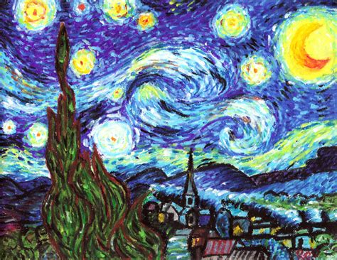 wordlesstech starry night by vincent van gogh vincent van gogh starry night by rodbenson on deviantart