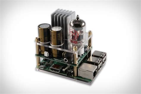 Most Beautiful Speakers Raspberry Pi Tube Amp Uncrate