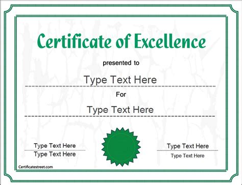 business award certificate templates pin by certificate on business certificates