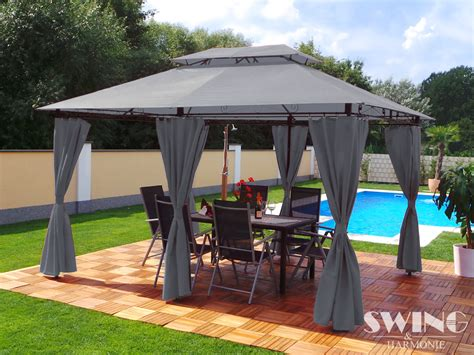 pavillon fedora namiot altana pawilon baldachim ogrodowy stalowy