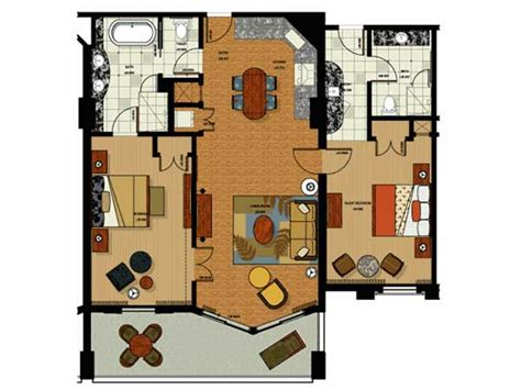 grand vacation club seaworld floor plans parc soleil by hilton grand vacations hotel in orlando