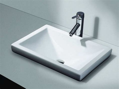 Pedestal Sink With Cabinet Types Of Popular Drop In Bathroom Sink The Homy Design