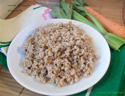 cucinare carne macinata carne macinata in padella