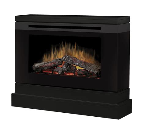 45 quot dimplex slater black electric fireplace dcf44b
