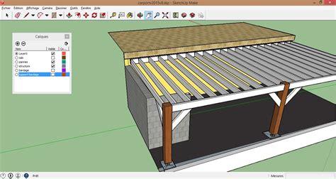Construire Un Chalet En Bois 2248 by Carport Fait Maison Ku94 Jornalagora