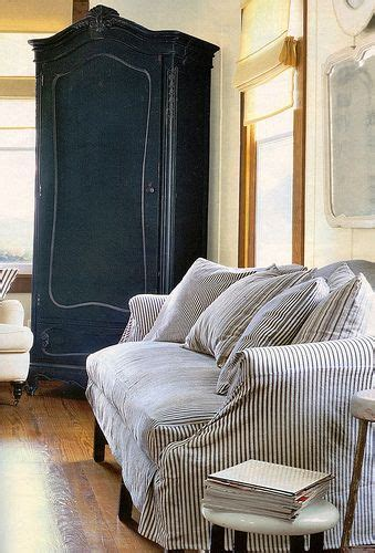 ticking stripe sofa slipcover 17 best images about ticking on pinterest mattress