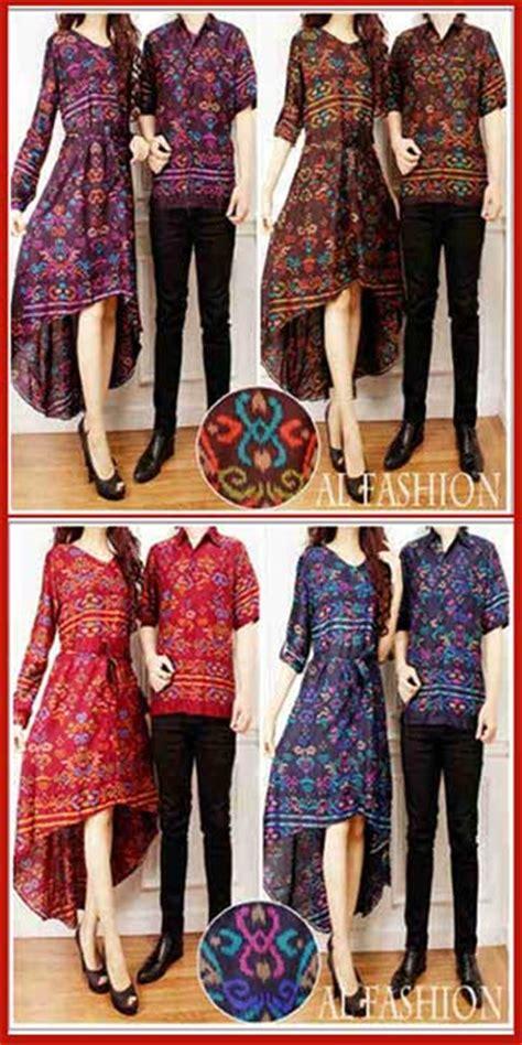 Cp Songket Aisya Navy baju batik papua cp911 gamis pasangan modern