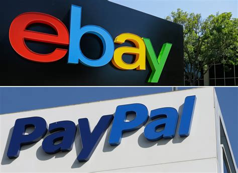 ebay and paypal ebay plans to separate from paypal here now