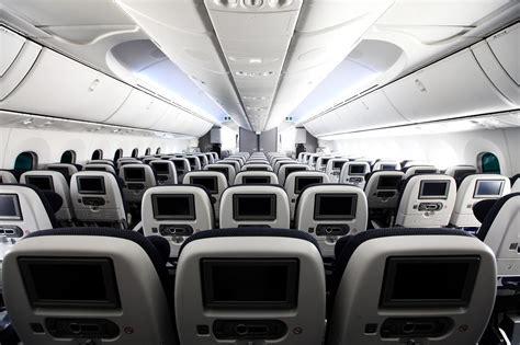 Boeing 787 Dreamliner Cabin by Negative Feedback Prompts Airways To Widen Seats