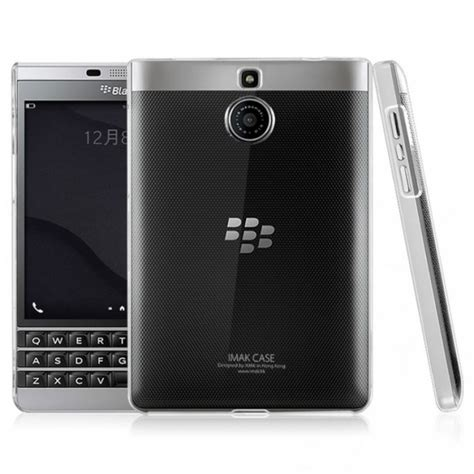 Imak 2 Ultra Thin For Blackberry Berkualitas jual imak ii ultra thin blackberry passport silver edition clear indonesia