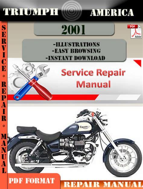 digital repair triumph america 2001 digital repair manual