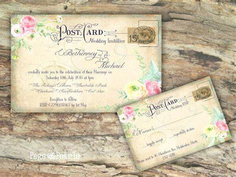 postcard wedding invites uk postcard wedding invites cheap invitation pos and vintage