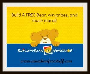 Build A Bear Gift Card Balance Canada - build a bear workshops ontario build a free bear giveaways and more
