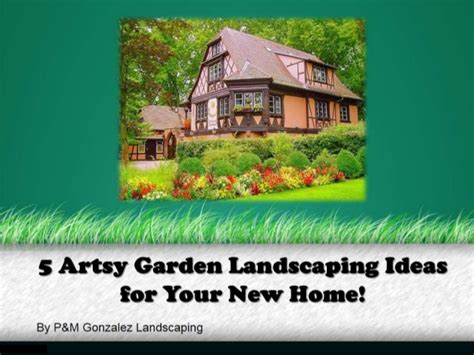 artsy garden landscaping ideas    home
