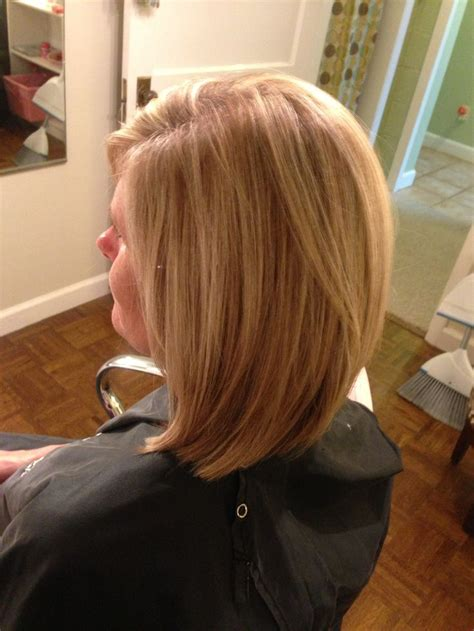 long layered stacked bob lightly layered long bob hair ideas pinterest bobs