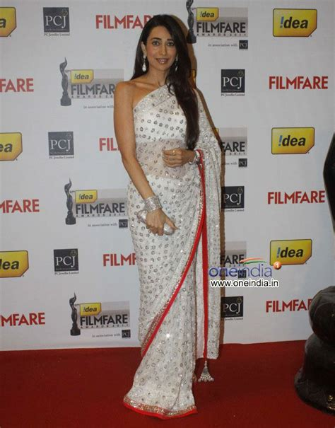 karisma kapoor white net embroidered saree order here http rajasthanispecial index php