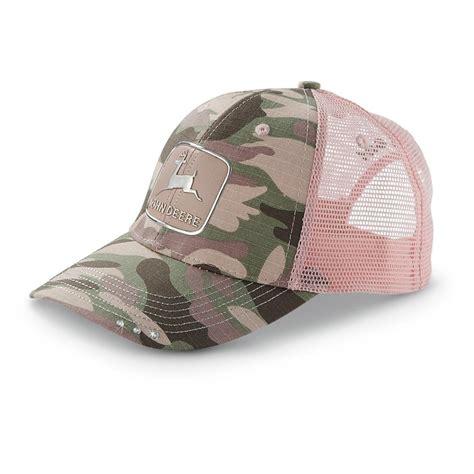 s deere 174 camo hat camo pink 304038 hats