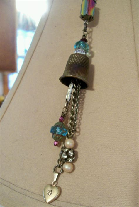 Handcrafted Custom Jewelry - thimble jewelry for you me jewelry