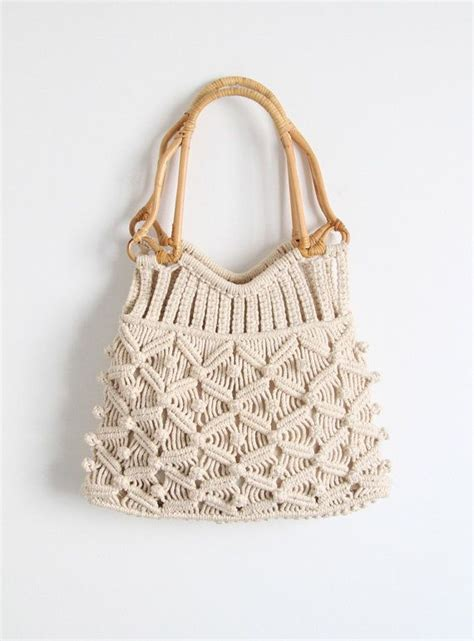How To Make Macrame Purse - 25 best ideas about macrame bag on macrame