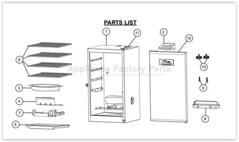 wiring masterbuilt diagram smoker electric 20077214