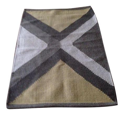 Wool Dhurrie Rug by Vintage Wool Dhurrie Rug 2 1 215 3 Chairish