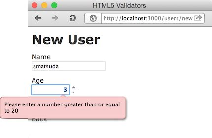 html5 pattern validation for username html5 validators by amatsuda