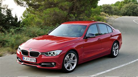 red bmw 328i 2012 bmw 3 series sedan f30 front pose in red wallpaper