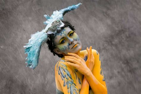 the painting festival photos world bodypainting festival takes it all in