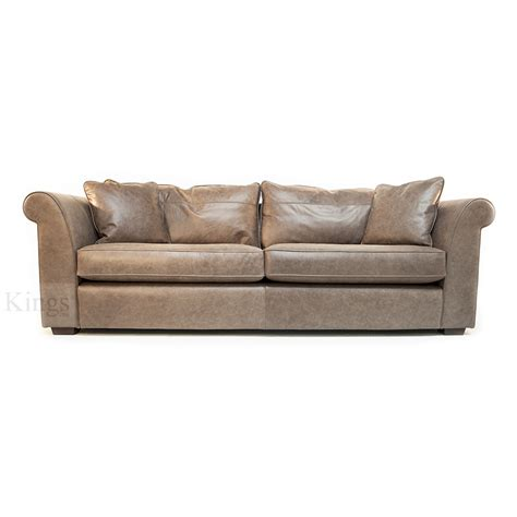 taupe couch collins and hayes eve in taupe aniline leather 3