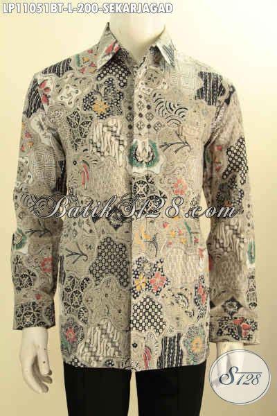 Kemeja Batik Istimewa baju kemeja batik istimewa lengan panjang nan