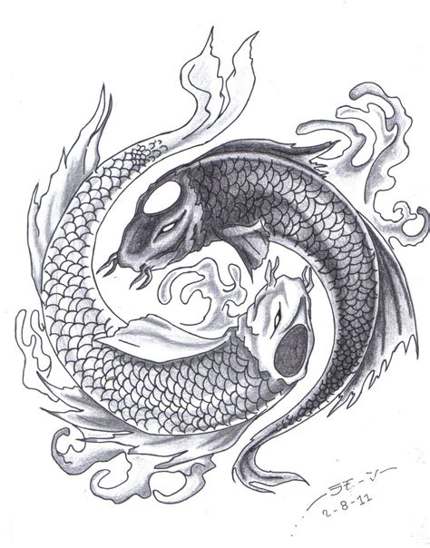 tattoo nightmares koi fish yin yang yin yang fish tattoos www imgkid com the image kid has it