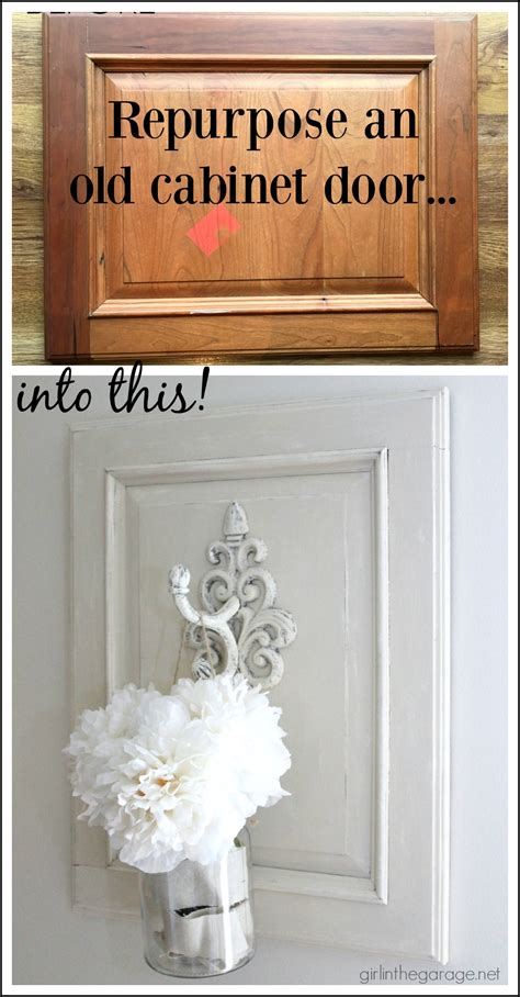diy kitchen cabinet door makeover repurposed cabinet door to chic wall decor in the