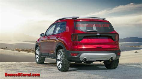 2020 Mini Bronco by 2020 Ford Bronco Renderings Bronco Ii Corral
