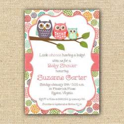 6 smart owl baby shower invitations printables ideas for bestpickr