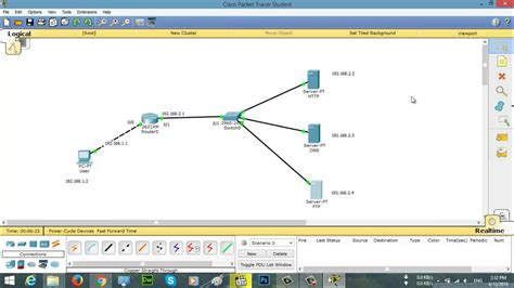 cisco packet tracer tutorial dailymotion tutorial cisco packet tracer configure http dns ftp