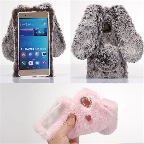 Casing Hp Redmi 4 Pro 3d Rabbit Fur Plush Flurry Soft compra funda de silicona conejo al por mayor de
