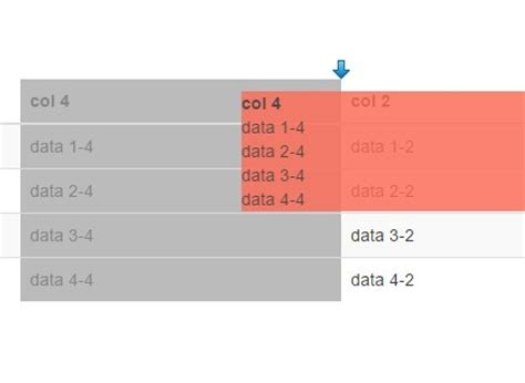 creating jquery table jquery plugin to create draggable table data