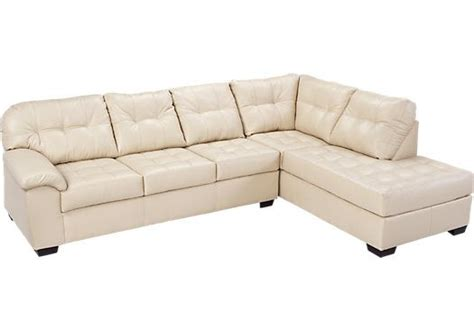Blended Leather Sectional by Shop For A Angelo Bay 2 Pc Blended Leather