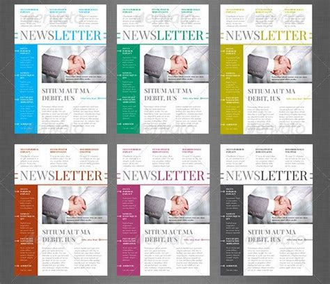 10 Best Indesign Newsletter Templates Graphic Design Newsletter Design Templates Newsletter Indesign Letter Template