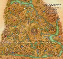 Eso World Map by Shadowfen Map The Elder Scrolls Online Game Maps Com