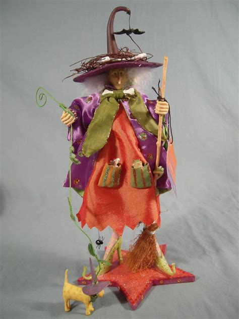 krinkles by patience brewster krinkles 12 quot raggedy witch by patience brewster